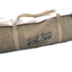 Weekender, Barrel Bag, grau, aus Merino Echtfilz